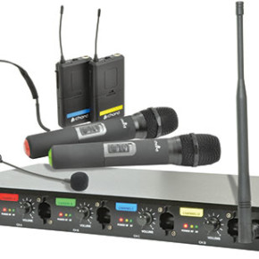 QU4 Quad UHF Wireless System